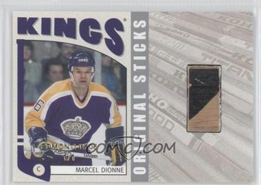 2004-05 In the Game Franchises US West Edition - Original Sticks - Silver Edmonton '05 #WOS-10 - Marcel Dionne /1