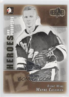 2004-05 In the Game Heroes and Prospects - [Base] - SportsFest Chicago #136 - Wayne Cashman /10