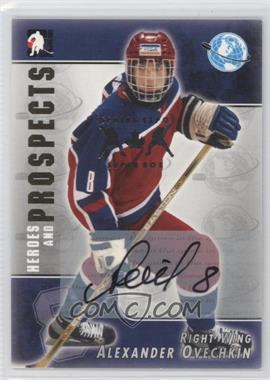 2004-05 In the Game Heroes and Prospects Autographs Spring Expo Superbox #A-03 - Alex Ovechkin