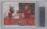 Steve Yzerman, Dino Ciccarelli /25 [BGS AUTHENTIC]