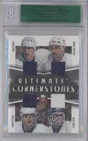 Mike Bossy, Bryan Trottier, Denis Potvin, Billy Smith /1 [ENCASED]