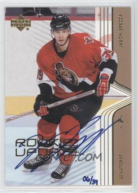 2004-05 SP Authentic Buyback Autographs #61 - Jason Spezza /39