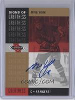 Mike York (2001-02 Heroes Signs of Greatness)