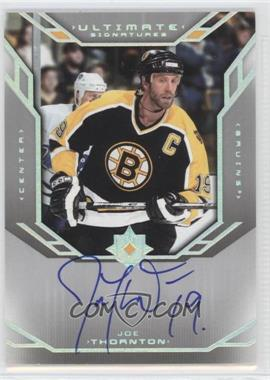 2004-05 Ultimate Collection - Ultimate Signatures #US-JT - Joe Thornton