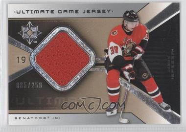 2004-05 Ultimate Collection Ultimate Game Jersey #UGJ-JS - Jason Spezza /250