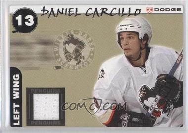 2005-06 Dodge Wilkes-Barre/Scranton Jerseys #13 - Daniel Carcillo