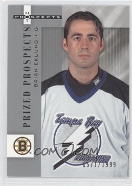2005-06 Fleer Hot Prospects - [Base] #104 - Brian Eklund /1999