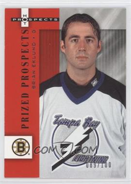 2005-06 Fleer Hot Prospects Red Hot #104 - Brian Eklund /100