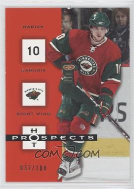 2005-06 Fleer Hot Prospects Red Hot #49 - Marian Gaborik /100
