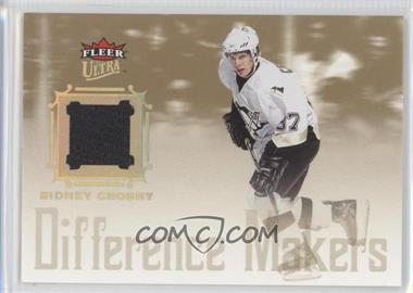 2005-06 Fleer Ultra - Difference Makers Jersey #DMJ-SC - Sidney Crosby