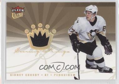2005-06 Fleer Ultra - Scoring Kings Jersey #SKJ-SC - Sidney Crosby