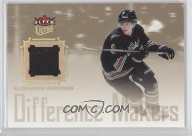 2005-06 Fleer Ultra Difference Makers Jersey #DMJ-AO - Alex Ovechkin