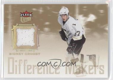 2005-06 Fleer Ultra Difference Makers Jersey #DMJ-SC - Sidney Crosby