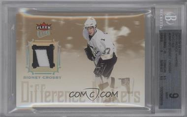 2005-06 Fleer Ultra Difference Makers Patch #DMP-SC - Sidney Crosby /25 [BGS 9]
