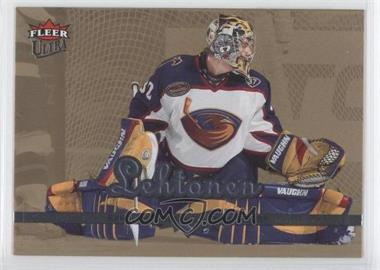 2005-06 Fleer Ultra Gold Medallion #8 - Kari Lehtonen