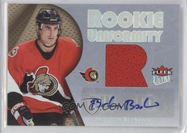 2005-06 Fleer Ultra Rookie Uniformity Autographs [Autographed] #ARU-BB - Brandon Bochenski /25
