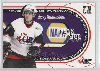 2005-06 In the Game Heroes and Prospects CHL Top Prospects Team Orr #TO-08 - Cory Emmerton