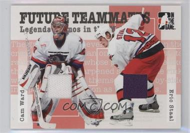 2005-06 In the Game Heroes and Prospects Future Teammates #FT-06 - Cam Ward, Eric Staal