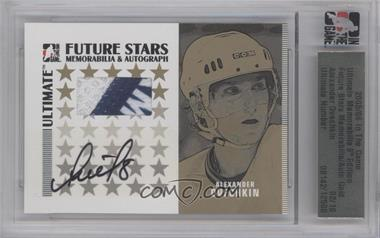 2005-06 In the Game Ultimate Memorabilia Future Stars Memorabilia & Autograph Gold #ALOV - Alex Ovechkin  /10 [ENCASED]