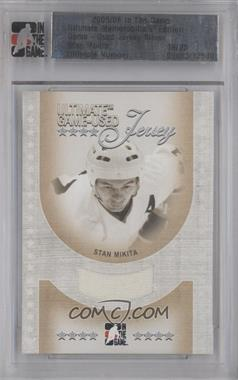 2005-06 In the Game Ultimate Memorabilia Ultimate Game-Used Jersey Silver #STMI - Stan Mikita /25