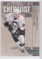 Pittsburgh Penguins Team Checklist (Sidney Crosby)