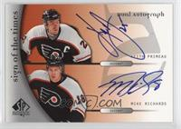 Keith Primeau, Mike Richards