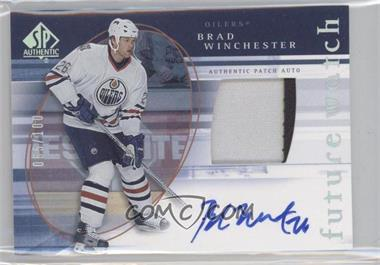 2005-06 SP Authentic Limited #157 - Brad Winchester /100