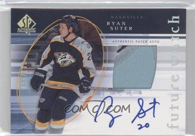 2005-06 SP Authentic Limited #166 - Ryan Suter /100