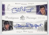 Marcel Dionne, Daniel Taylor /100