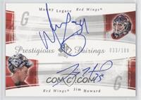 Manny Legace, Jimmy Howard /100