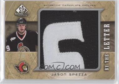 2005-06 SP Game Used Edition - By the Letter #LM-SP - Jason Spezza /6