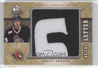 2005-06 SP Game Used Edition By the Letter #LM-SP - Jason Spezza /6