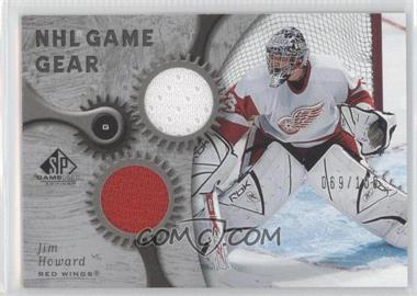 2005-06 SP Game Used Edition NHL Game Gear #GG-JH - Jimmy Howard /100