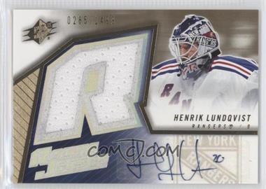 2005-06 SPx #173 - Henrik Lundqvist /1499