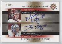Manny Legace, Jimmy Howard /25