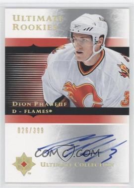 2005-06 Ultimate Collection #105 - Dion Phaneuf /399
