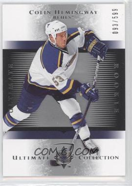 2005-06 Ultimate Collection #223 - Colin Hemingway /599