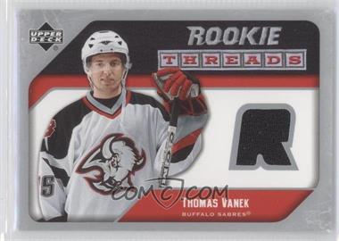 2005-06 Upper Deck - Rookie Threads #RT-TV - Thomas Vanek