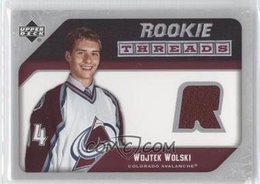 2005-06 Upper Deck - Rookie Threads #RT-WW - Wojtek Wolski
