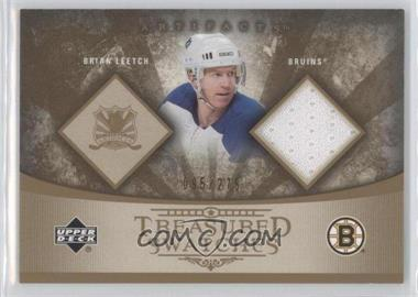 2005-06 Upper Deck Artifacts - Treasured Swatches #TS-BL - Brian Leetch /275