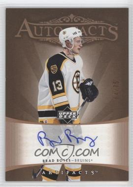 2005-06 Upper Deck Artifacts Auto-Facts Copper [Autographed] #AF-BB - Brad Boyes /75