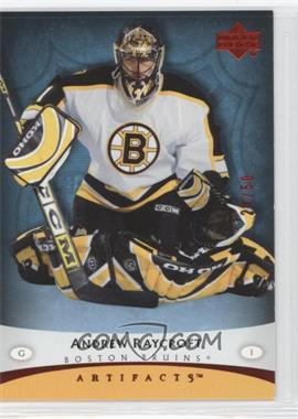 2005-06 Upper Deck Artifacts Red #7 - Andrew Raycroft /50