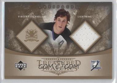 2005-06 Upper Deck Artifacts Treasured Swatches #TS-VL - Vincent Lecavalier /275