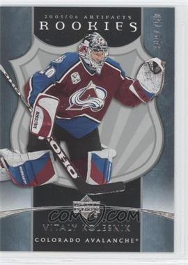 2005-06 Upper Deck Artifacts #265 - Vitali Kolesnik /750