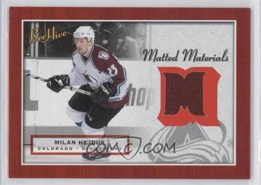 2005-06 Upper Deck Bee Hive Matted Materials #MM-HJ - Milan Hejduk