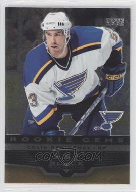 2005-06 Upper Deck Black Diamond #280 - Colin Hemingway