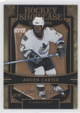 2005-06 Upper Deck Hockey Showcase - [Base] #HS20 - Anson Carter