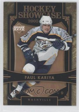 2005-06 Upper Deck Hockey Showcase Promos #HS11 - Paul Kariya