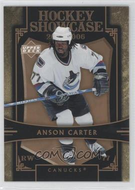 2005-06 Upper Deck Hockey Showcase Promos #HS20 - Anson Carter