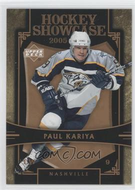 2005-06 Upper Deck Hockey Showcase #HS11 - Paul Kariya